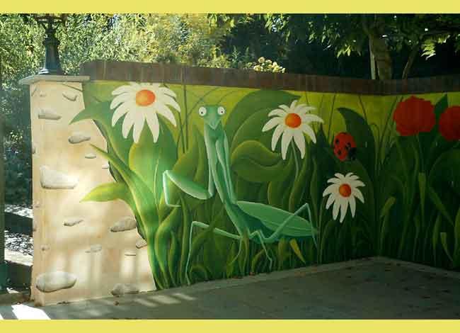 Dcors Peints Peinture Sur Mur Intrieur Ou Extrieur Trompe L Oeil Fresque Peintre En Dcors